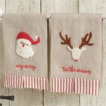 Christmas Linen Towels